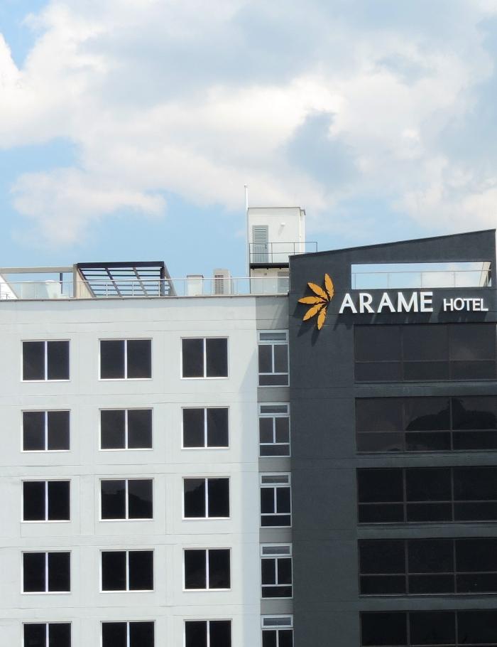 P 2 Landing Hotel Arame